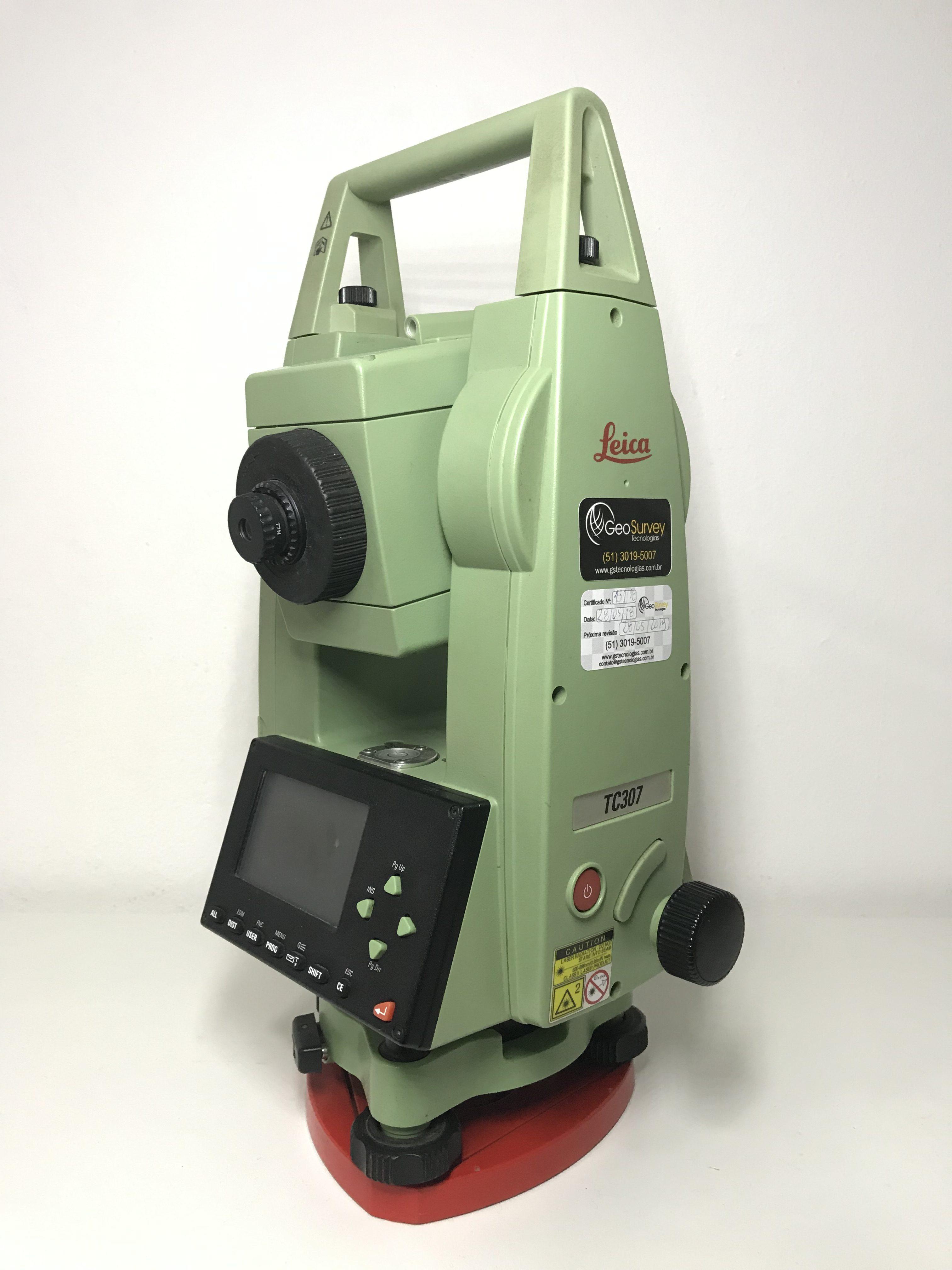 Estação Total Leica TC307 – R$ 10.900,00